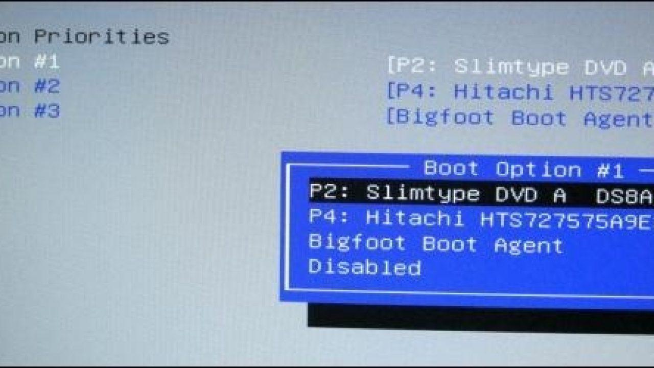 Thay đổi thứ tự Boot khởi động máy tính trong BIOS