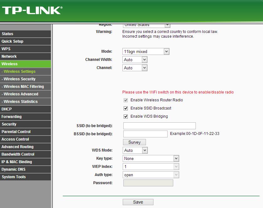 Hướng dẫn cấu hình router TP-Link TL-WR841ND repeat sóng WiFi từ TL-WR720N 2