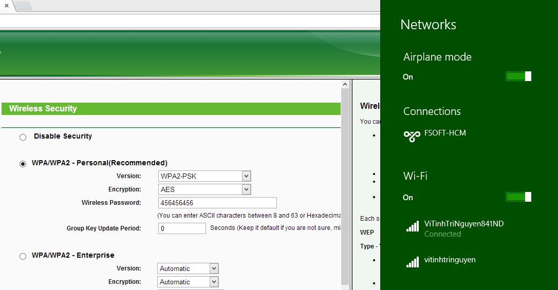 Hướng dẫn cấu hình router TP-Link TL-WR841ND repeat sóng WiFi từ TL-WR720N 7