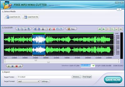 Free MP3 WMA Cutter