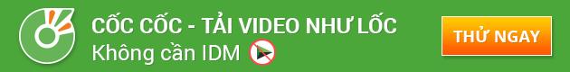Cốc cốc Tải Video không cần IDM