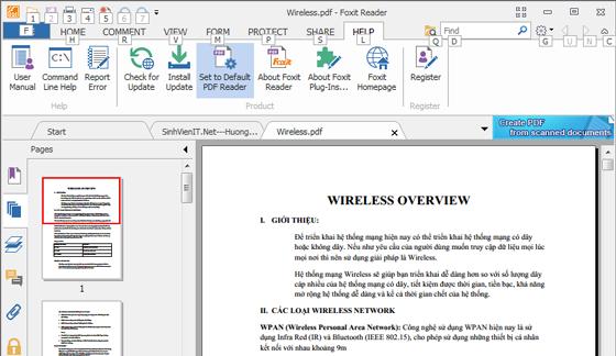 Download Foxit Reader mới nhất