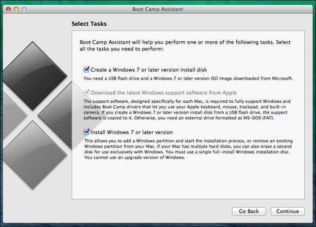 cài đặt windows với khởi động tren mac