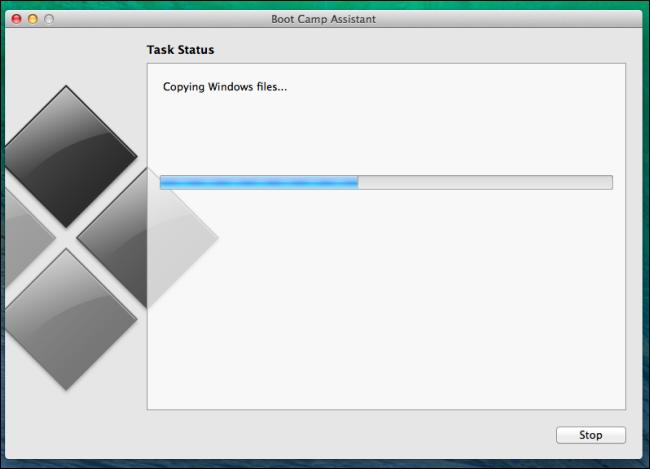 khởi động trại sao chép windows file