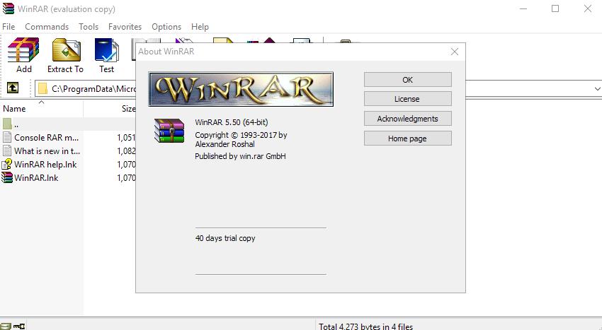 WinRAR 5.5 cờ rách