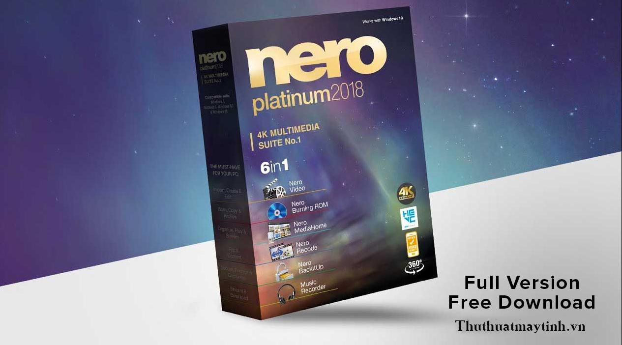 download Nero 2018