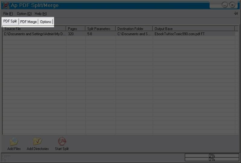 PDF-Split-Merge