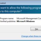 tắt cảnh báo uac trên Windows