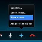 chia sẻ màn hình qua Skype