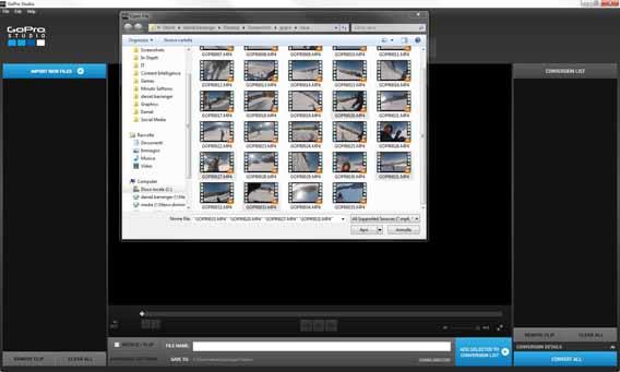 Chọn video bao gồm