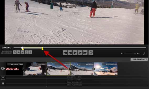 Thay đổi chiều dài của mỗi clip