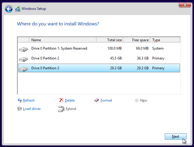 select-another-partition-to-install-windows-10-on-in-dual-boot