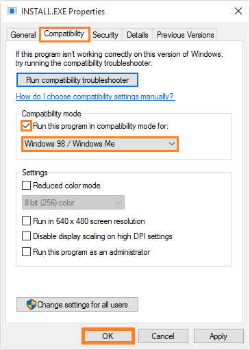 Windows-10-Old-Software-right-click-Properties-Compatibility