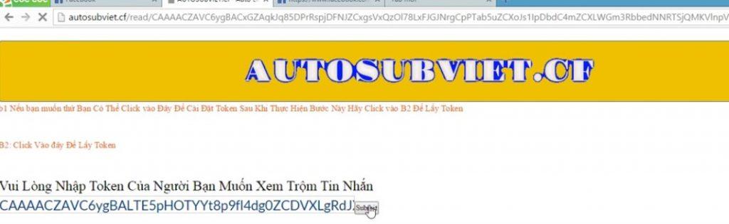 cach doc trom tin nhan facebook khong can mat khau cuc nhanh