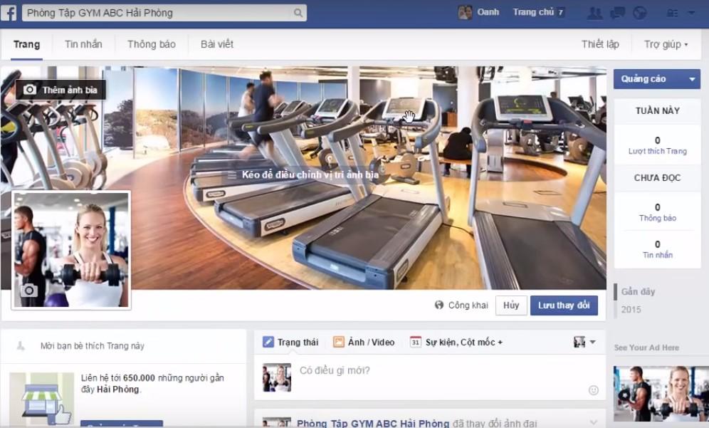 cach tao fanpage tren facebook nhanh chuan seo