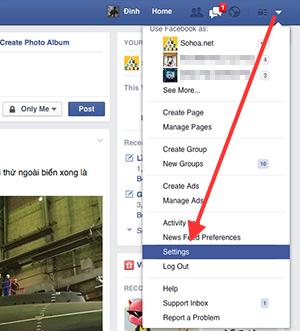 Cách tắt video tự chạy trên facebook với hệ điều hành android và window