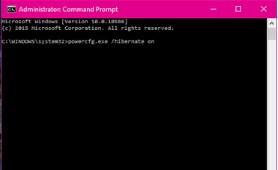 Bật chế độ Hibernate tinh nang ngu dong trong windows 10