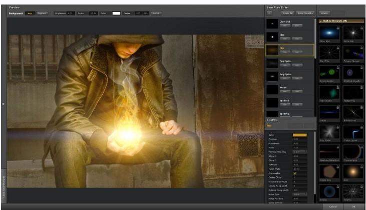 Plugin photoshop Knoll Light Factory 3.2