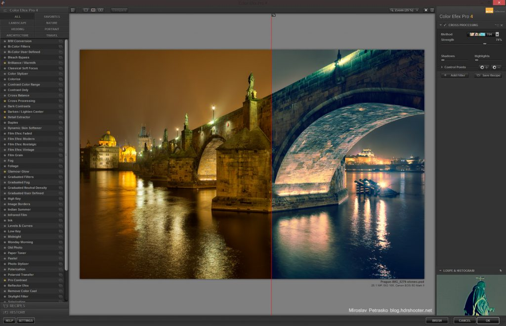 Plugin photoshop Nik Color Efex Pro 4