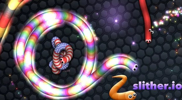 Tải game Slither io cho máy tính windows mac tải game rắn săn mồi - Hình 3