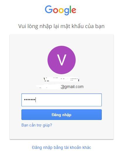 Cách đổi mật khẩu Gmail nhanh