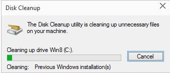 Cách Xóa Windows.old trong Windows 10