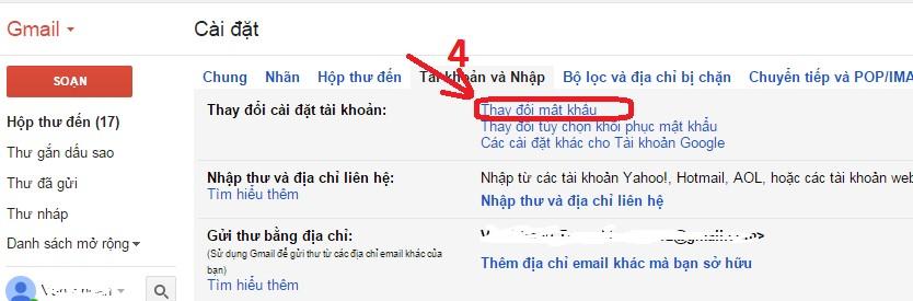 Hướng dẫn cách đổi mật khẩu password Gmail nhanh