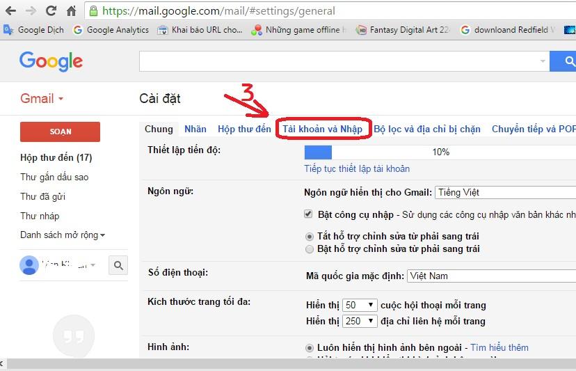 Hướng dẫn cách thay đổi mật khẩu Gmail nhanh