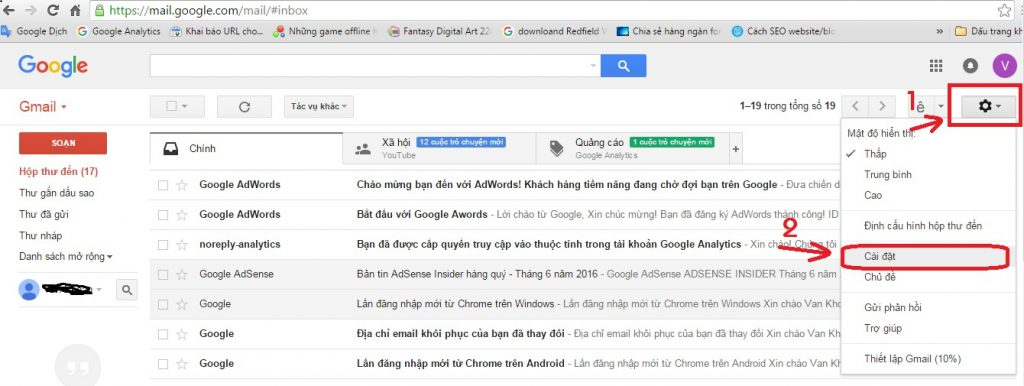 Hướng dẫn cách thay đổi mật khẩu tài khoản Gmail nhanh
