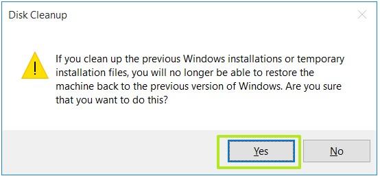 Không xóa được Folder Windows.old khi nâng cấp lên Windows 10