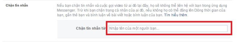 Cách chặn tinh nhắn Facebook như thế nào