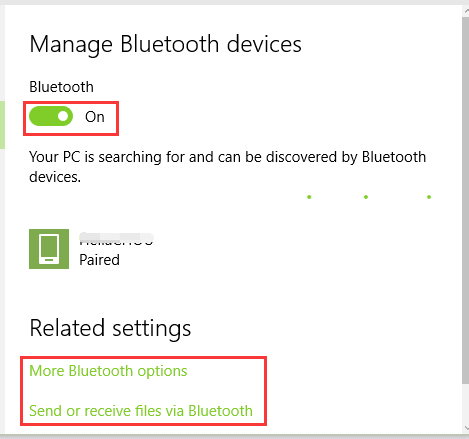 Mất Bluetooth trong Windows 10