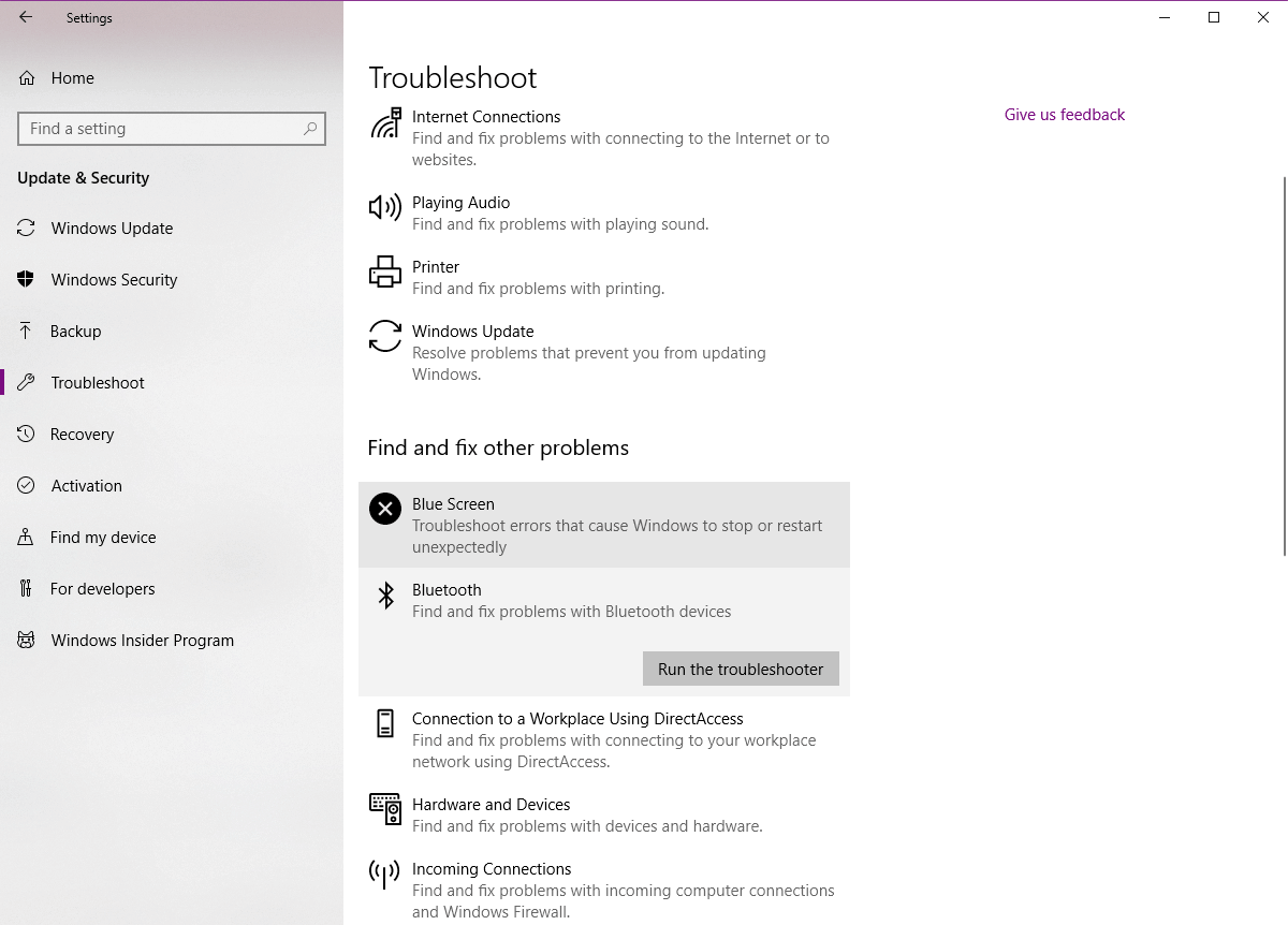 Sửa lỗi mất Bluetooth Windows 10