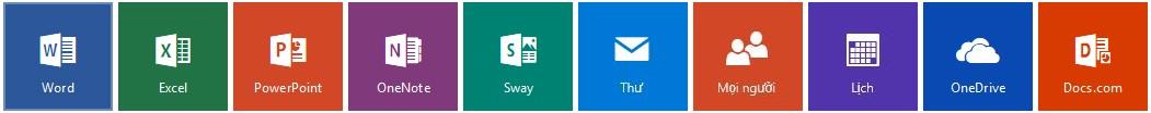 Downoand Office Online cho PC - Bộ ứng dụng văn phòng trực tuyến