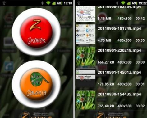Ghi lại video màn hình trực tiếp từ Android