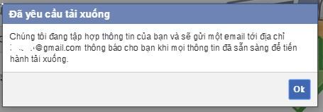 Tải xuống File tin nhắn Facebook đã bị xóa