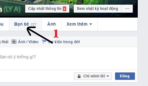 Cách ẩn danh sách bạn bè trên Facebook với mọi người