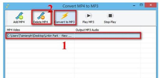 Cách đổi đuôi MP4 sang MP3 bằng Convert MP4 to MP3 - Hình 3
