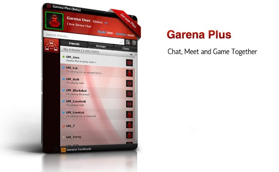 Cách sửa lỗi Garena plus 1.2