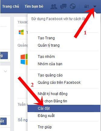Cách khóa Facebook tạm thời