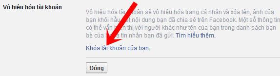Cách vô hiệu hóa tài khoản Facebook tạm thời