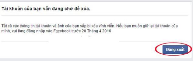 Khoas tài khoản Facebook vĩnh viễn