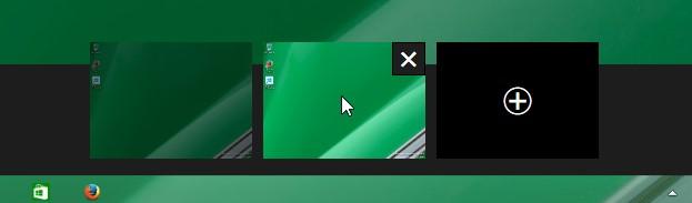 Mở thanh taskbar xem Desktops ảo trong Windows 10