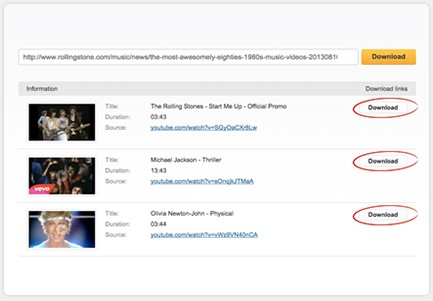 Tải video trên youtube.com