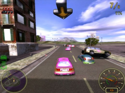 Tải game đua xe ô tô trong thành phố City-Racing