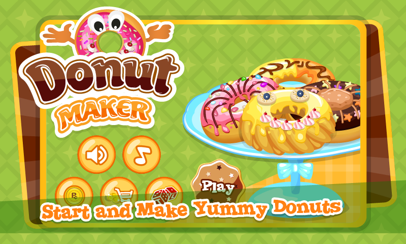Tai game nau an Donut Maker