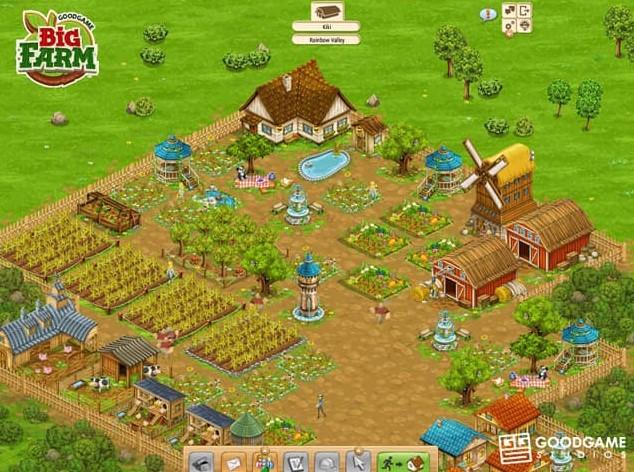 Tải Big Farm game nông trại