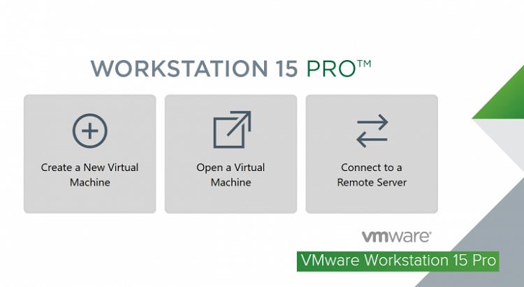 Giao dien vmware workstation pro 15