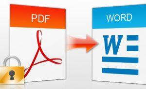 Cách chỉnh sửa nội dung PDF trong Word