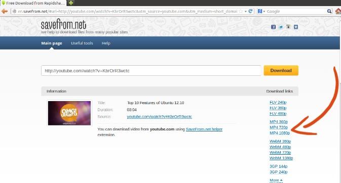 Cách để tải video từ Dailymotion nhanh